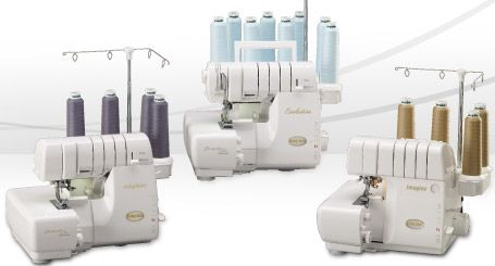 The Babylock Serger Event is next Friday and Saturday. This class is great for anyone who ever wanted to know what a serger does - this class will show all the wonderful things that a serger can do - and none include only finishing seams! Be astonished in this technique filled lecture/demo that will also include a hands on portion of making samples. Refreshments and door prizes will also be included. This event costs $12. Call (817) 460-4992 or stop by the store to sign up.