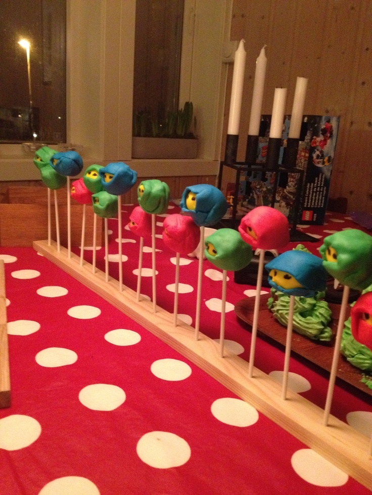 Ninjago cakepops