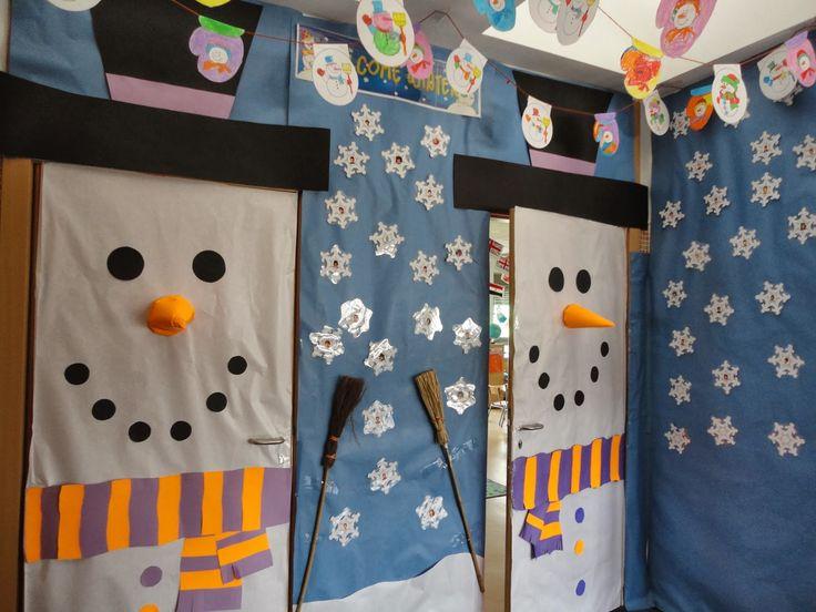 Decoracion Invierno Para Jardin Infantil ~ Decoraciones De Pasillos De Escuela en Pinterest  Decoraciones De