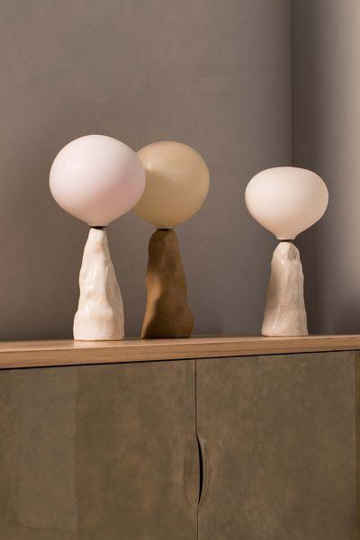 E.T. table lamps, pierre yovanovitch, oops