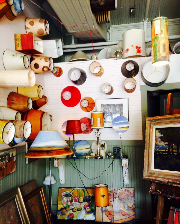 Lampscapes studio in White River Junction Vermont Photo by Regie Cooper