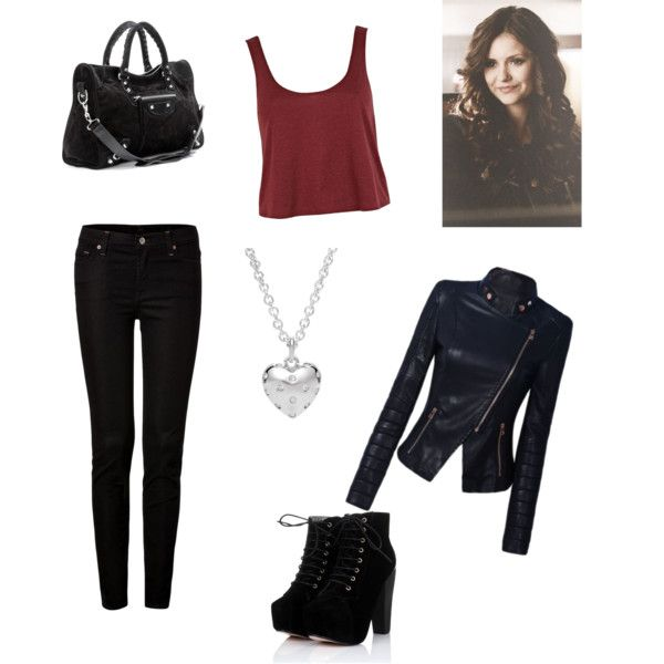 """""""Katherine Pierce inspired outfit"""" by misspetrova-xo on Polyvore"""