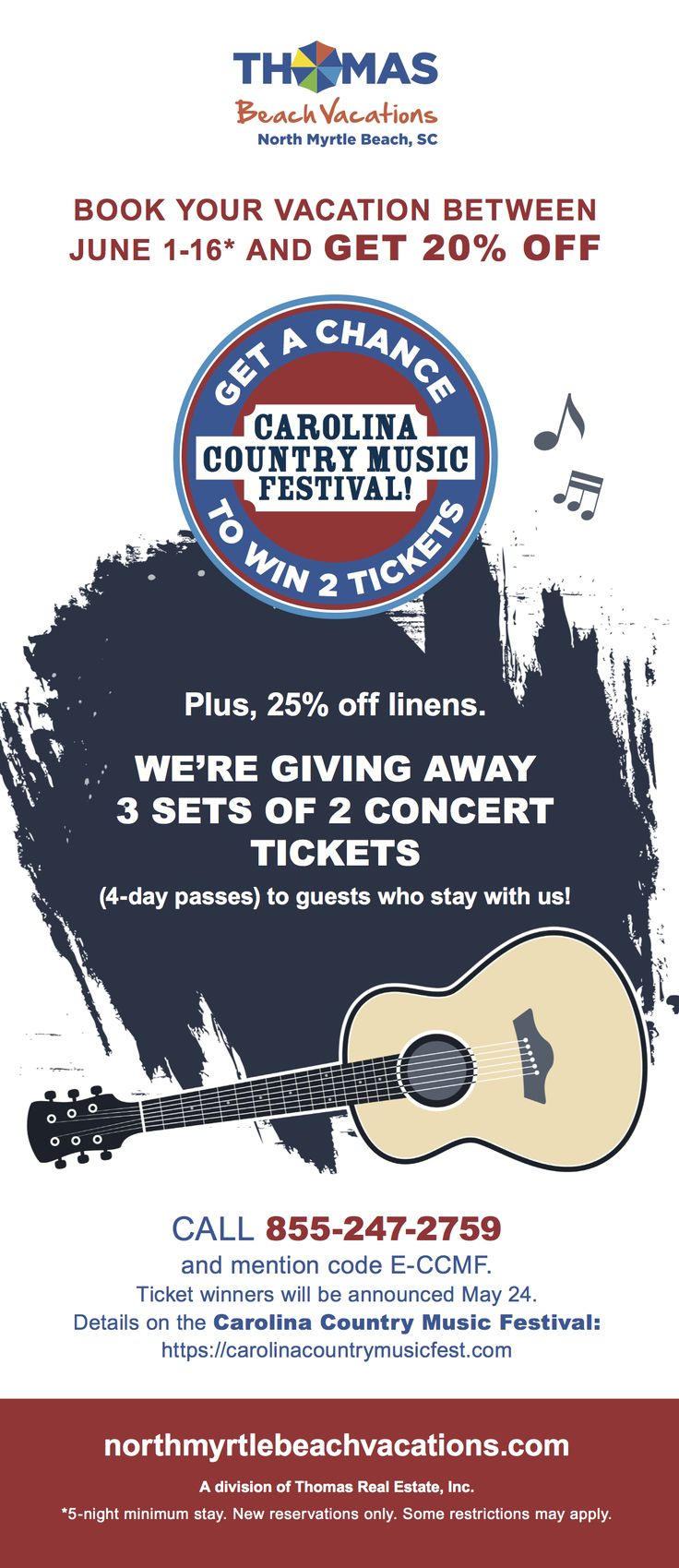Who wants FREE CCMF tickets?! Win tickets, North myrtle