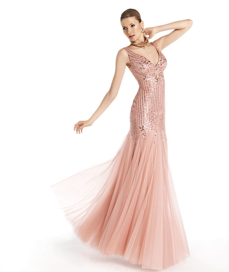 Pronovias presents the Tanisha cocktail dress from the Cocktail 2014 ...
