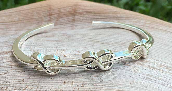 Majique Jewellery - Infinity Cuff. Find it at www.giftedmemoriesjewellery.com.au