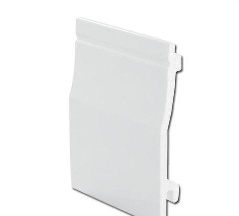 Shiplap External Cladding 150mm White PVC