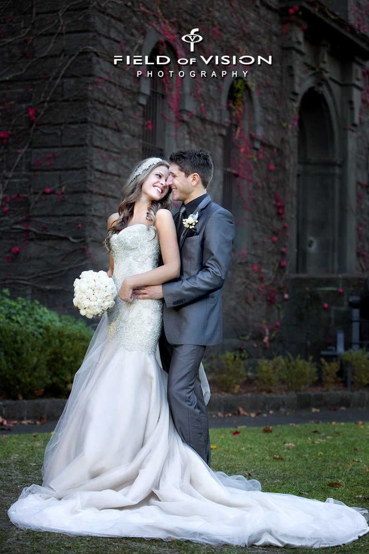 Gorgeous Genna and Fabian! Had a fabulous and fun day! This was taken at the army barracks.   www.fovphoto.com.au