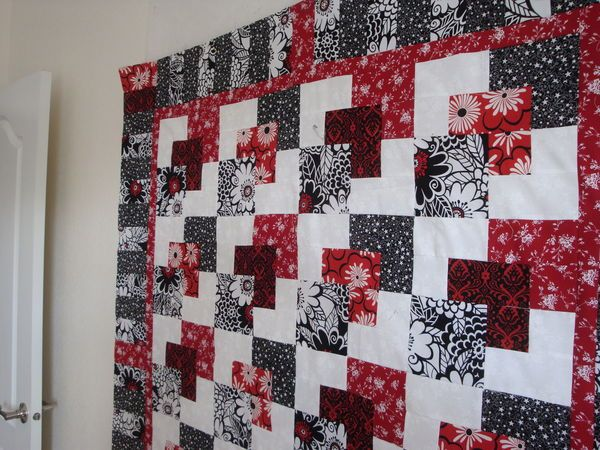 2412 Best Images About Red White Black Quilts On Pinterest