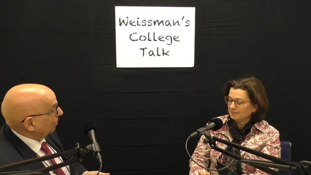 """This is a video version of the radio show """"College Talk"""" with Dr. Aldemaro Romero Jr. interviewing Prof. Andrea Gabor, of the Department of Journalism and Writing Professions at Baruch College, on the role of journalists in academia."""