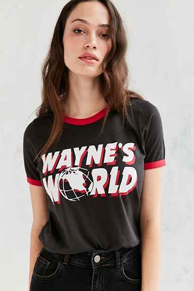 Junk Food Waynes World Ringer Tee - Urban Outfitters$27
