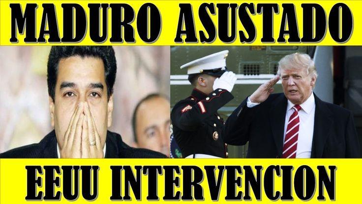 ultimo minuto VENEZUELA EEUU 12 FEBRERO 2018||MADURO esta Completamente ASUSTADO por INTERVENCION