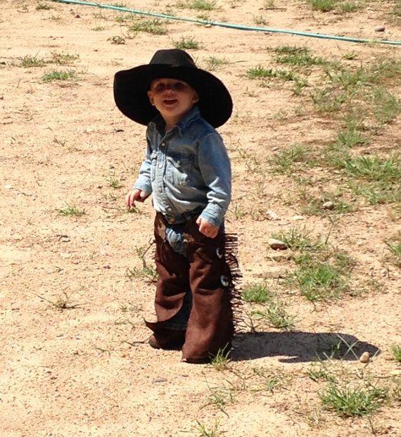 peuter kinnebakspek cowboy kostuum cowgirl door lilwesternworks
