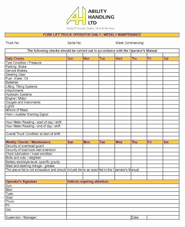 Vehicle Maintenance Checklist Excel Inspirational Download Preventive Maintenance Checklist Ups Xls In 2021 Service Schedule Maintenance Checklist Schedule Template