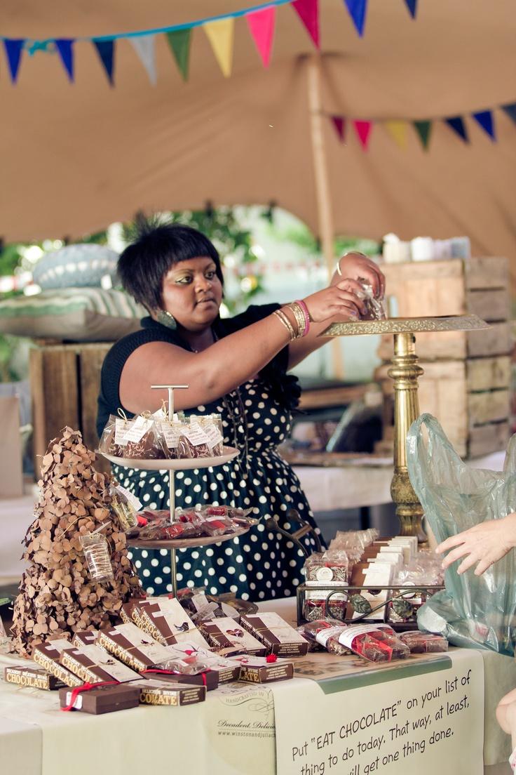 Treasury Market at Stellenbosch Slow Market