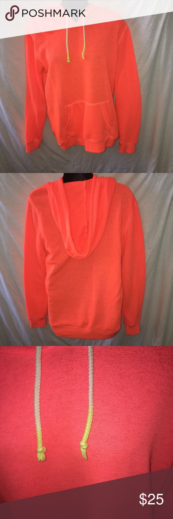 Bright orange hoodie Don't like the price?  Make me an offer!  Always willing to offer discounts on bundles. Billabong Sweaters