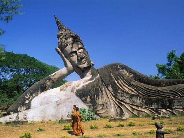 Buddha Park, Laos. http://travel.nationalgeographic.com/travel/countries/laos-guide/#