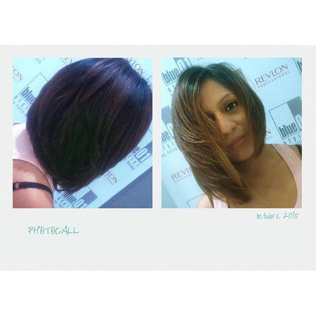 Bob escalado, fantástico Carles del salón de L´Hospitalet.  #blue01stylist #photocall #peinados #peluqueria #peluquerias #peluqueriaunisex #estilista #cabello #salon #looks #hairstyle #peluqueriabarcelona #instadaily #estilistas #pictoftheday #pelo #insta