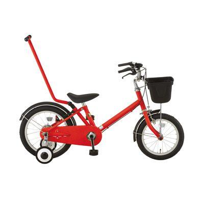 16型幼児用自転車・押し棒付き レッド | 無印良品ネットストア