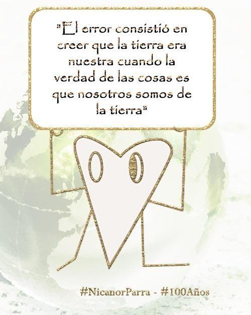 Nicanor Parra #antipoeta