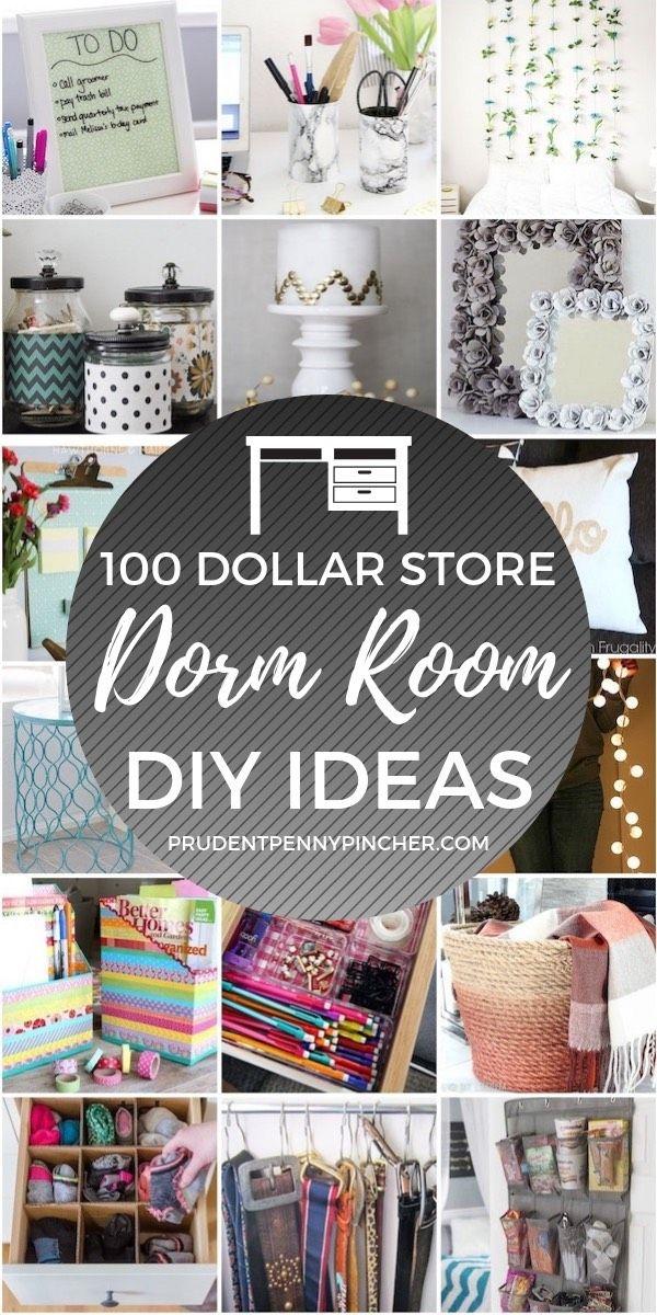 100 Diy Dollar Store Dorm Room Ideas Dollar Store Diy Dorm Room