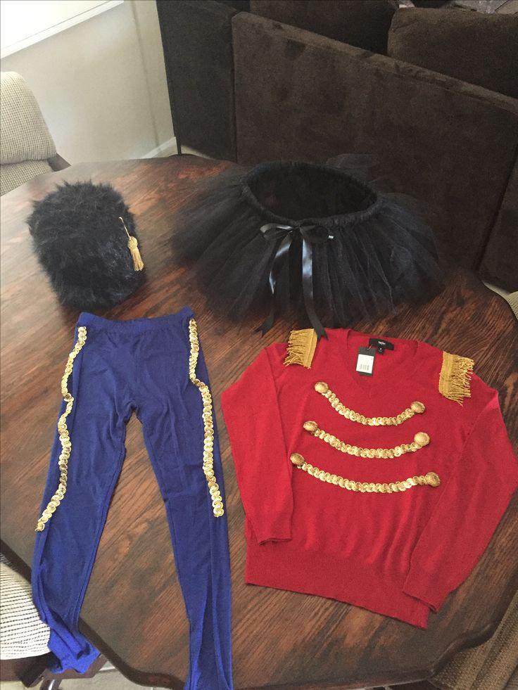 DIY nutcracker costume for Xmas party