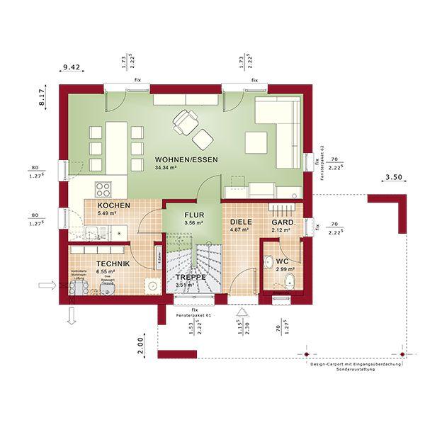 Moderne architektur grundrisse  219 besten Grundrisse Bilder auf Pinterest | Grundrisse ...