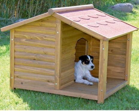 Best 25 casas para perros ideas on pinterest accesorios - Casa perros madera ...