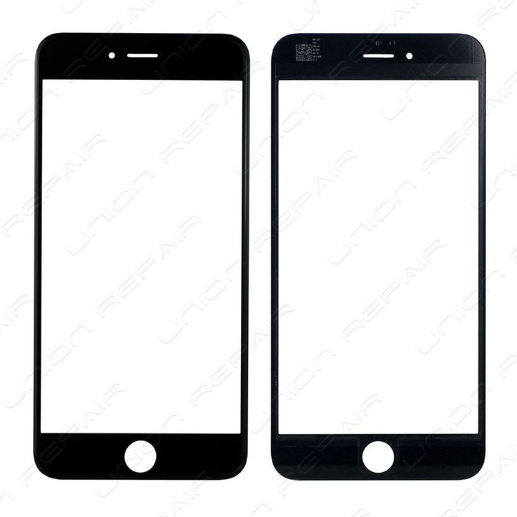 Replacement for iPhone 6 Plus Front Glass Lens - Black    Specifications:  Color: Black  Screen Size: 5.5 inches  Material: Shatter proof glass, oleophobic coating  Compatibility: Apple iPhone 6 Plus    F...
