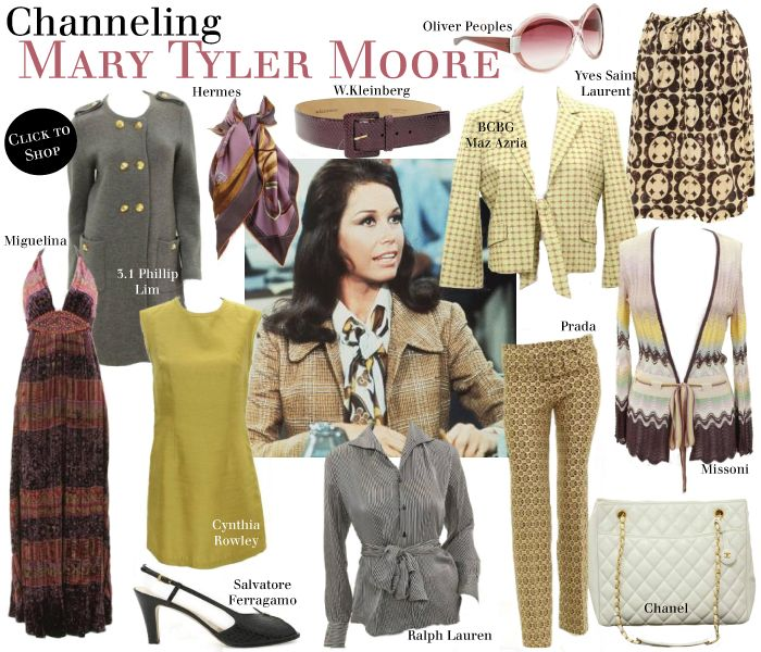 Clothes from Mary Tyler Moore Show