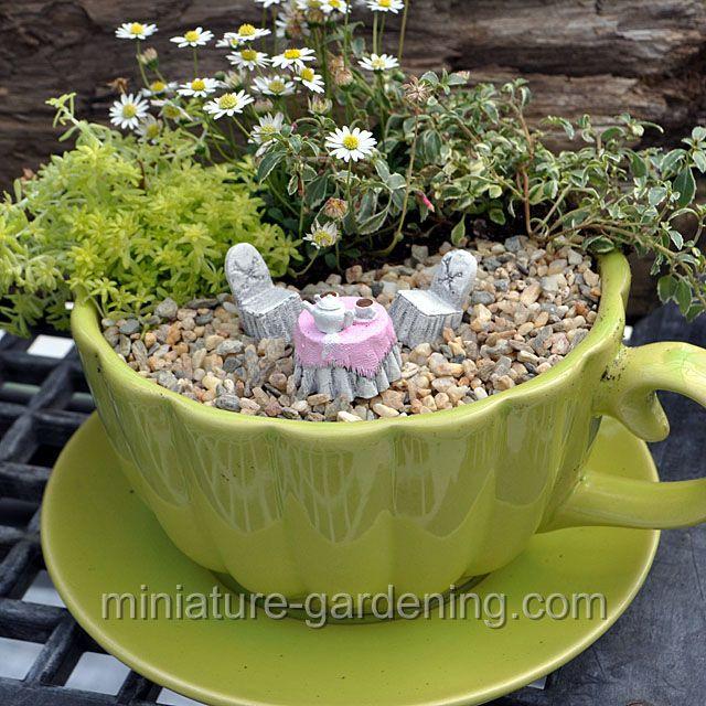 The Tiniest Of Teaparties: #fairygarden #fairyhouses