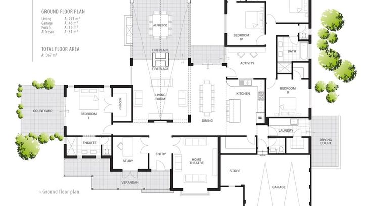 I got a little bit excited about this floor plan… I say that a lot I know, but this one is a winner for me! Do you know that I take hours and hours each week looking for good floor plans? Ha! You'd think it would be easy to whack one up, but there are …