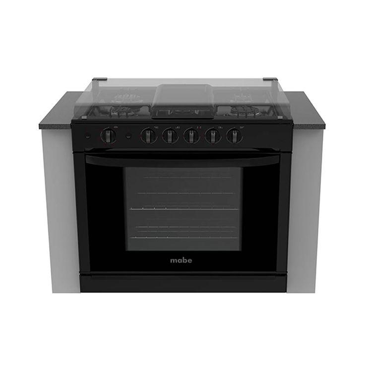 Estufa empotrable con capelo mabede 80 cm negra mod emc8022nn2 00075763882620 | Walmart.com.mx