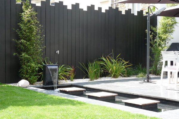 Un jardin contemporain épuré avec terrasses (Jardins de paysagistes)