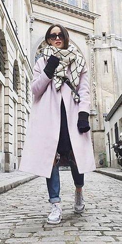 Subtle Checks Over a Colorful Coat