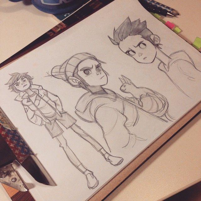 Anna Cattish #sketching