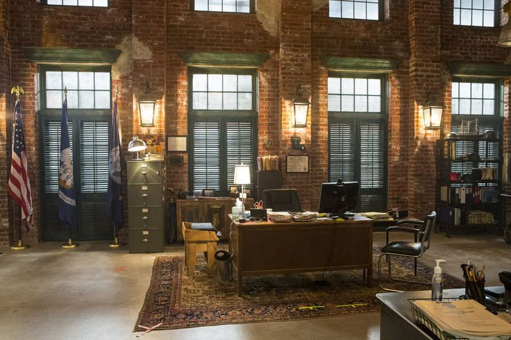 A Visit To The Ncis New Orleans Squad Room Kitchen And