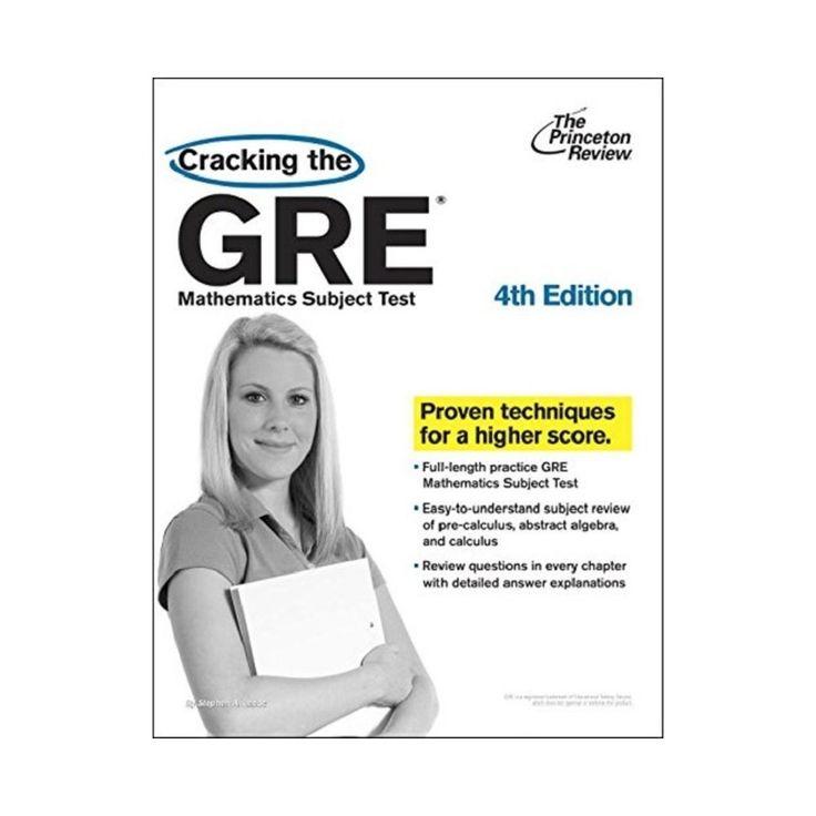 Cracking the Gre Mathematics Subject Test (Paperback) (Steven A. Leduc)