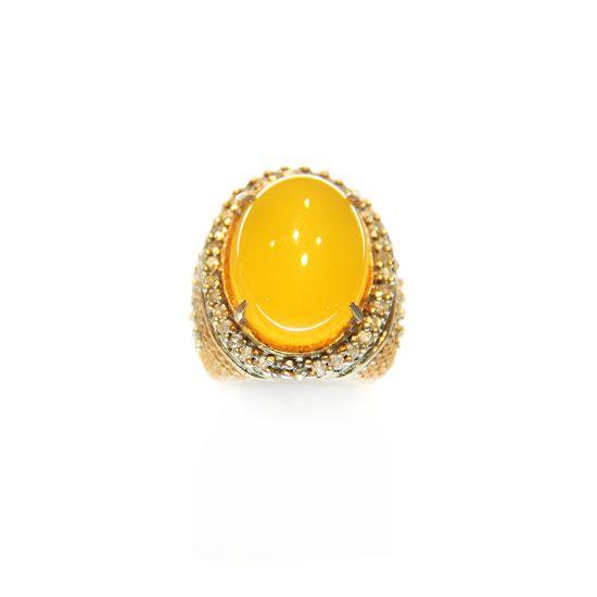 Yellow Marjan Ring Silver | Rp 3.500.000