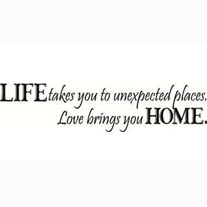 "www.limedeco.gr  "" Life takes you to unexpected places. Love brings you home. """