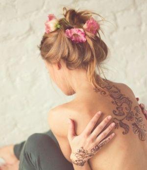 Beautifully done henna by Janice Garcia
