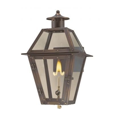 The Gardendale Lantern (PC35) with Gas Light Source