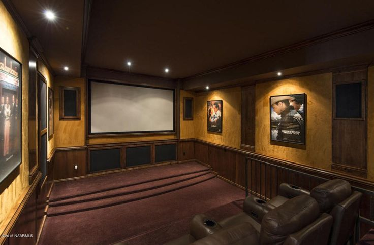 What do you think of Luxury home theater equipped with surround sound JBL Home Theater system in your own home?  NorthernArizonaFineHomes.com http://rem.ax/1Tmp7pw #realestate #flagstaff #subdivisionname #dream home #foresthighlands