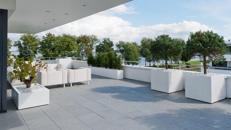 Inrichting modern dakterras door van raaijen hoveniers moderne tuin van raaijen hoveniers for Moderne inrichting