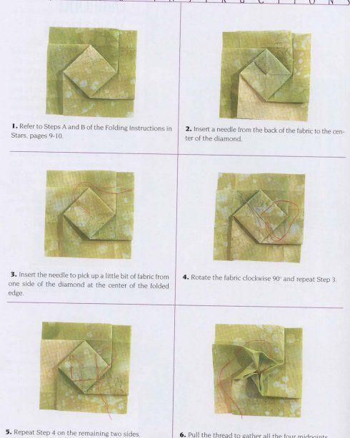 Оригами из ткани (схемы и МК по косметичке). Обсуждение на LiveInternet - Российский Сервис Онлайн-Дневников
