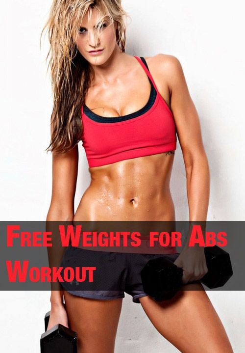 List of ab exercises you can do with free weights or bodyweight only
