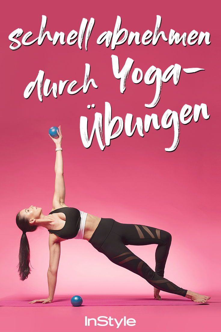 Schlank mit Yoga: Die besten Yoga-Übungen zum Abnehmen