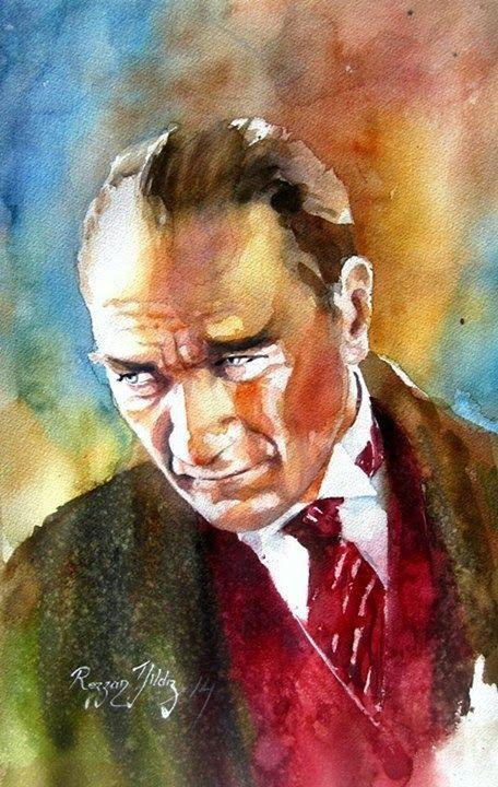 """Rezzan Yıldız II Atatürk Serisi (Portre) Rezzan Yıldız; """" 1952 Sarıkamış doğumlu, aslen Niğde'liyim. Babamın memuriy..."""