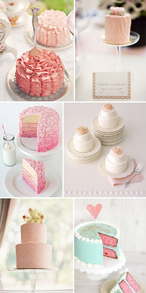 cute mini wedding cakes