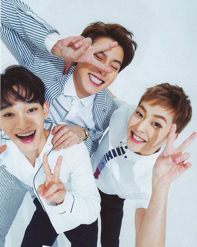 Chen, Chanyeol & Xiumin