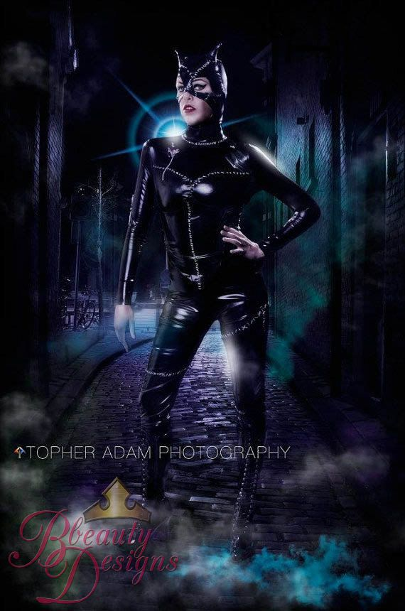 Catwoman Suit Movie Reproduction Inspired by by BbeautyDesigns
